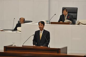茨城県議会にて